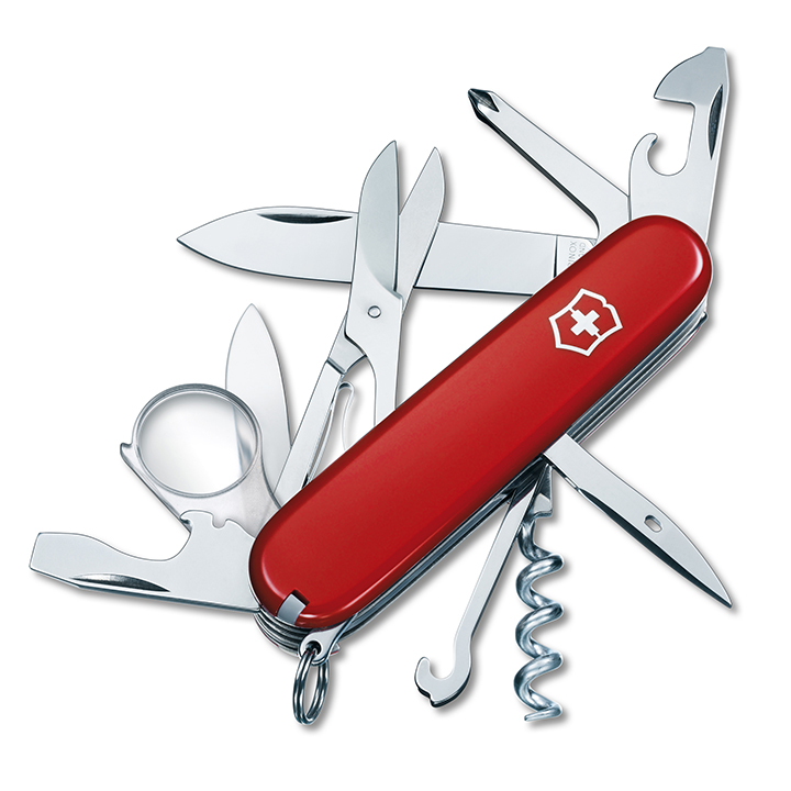 Victorinox Explorer Red Swiss Army Knife 16 Implements