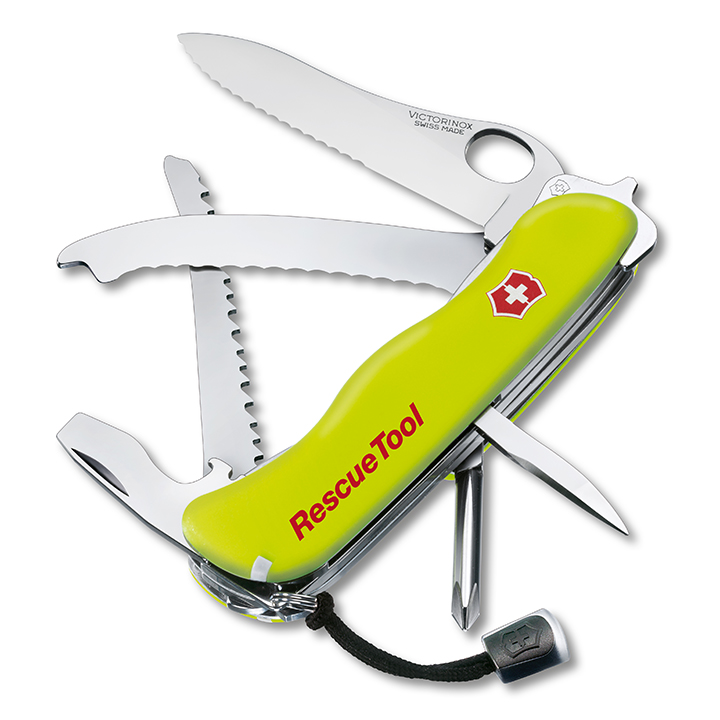 Victorinox Swiss Army Rescue Tool - Fluoro Yellow